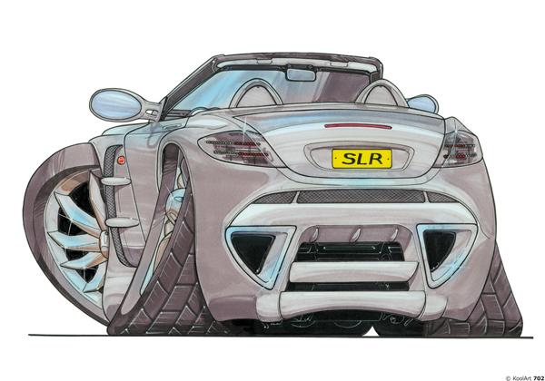 Mercedes SLR Cabiolet Grise
