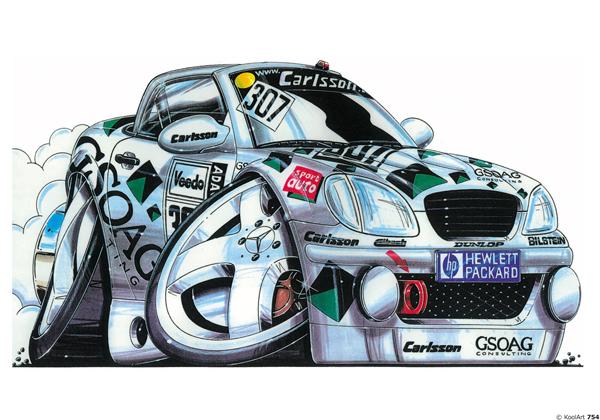 Mercedes SLK Racing Blanche