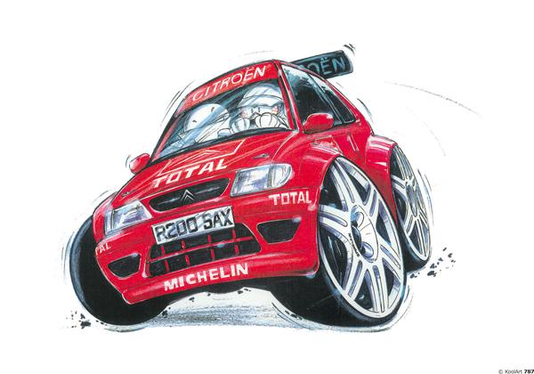 Citroen Saxo Rallye Rouge