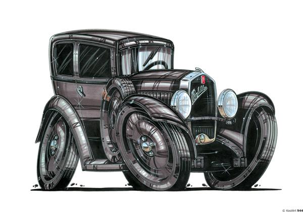 Fiat Balilla 1932 Noire