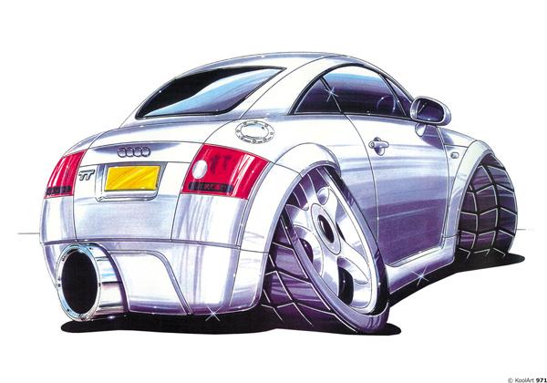 Audi TT Grise