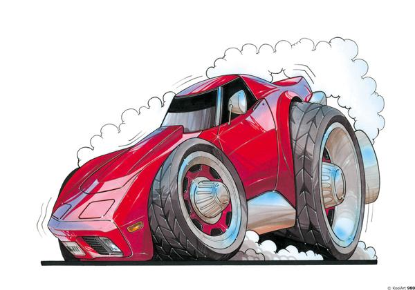 Chevrolet Corvette Stingray Rouge