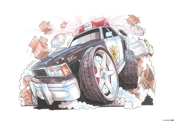Voiture Police US