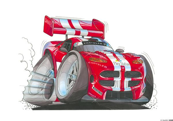 Dodge Viper Rouge
