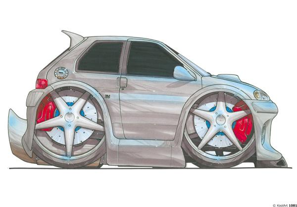 Peugeot 106 Grise