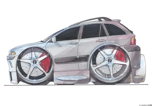 BMW Serie 3 Grise