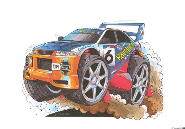 Mitsubishi Evo Rallye