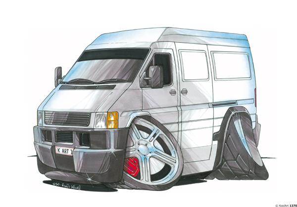 Volkswagen LT Gris