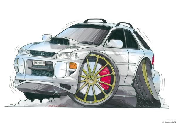 Subaru Impreza 4X4 Grise