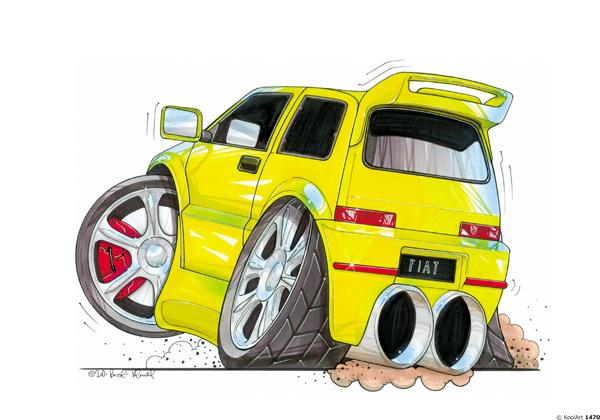 Fiat Cinquecento Jaune