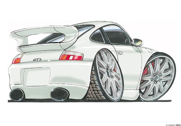 Porsche 911 GT3 Blanche