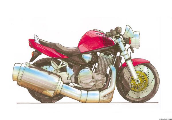 Suzuki Bandit Rouge
