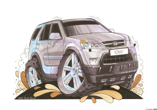 Honda CRV 4X4 Grise