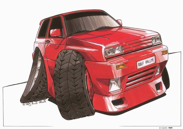 Volkswagen Golf Rouge