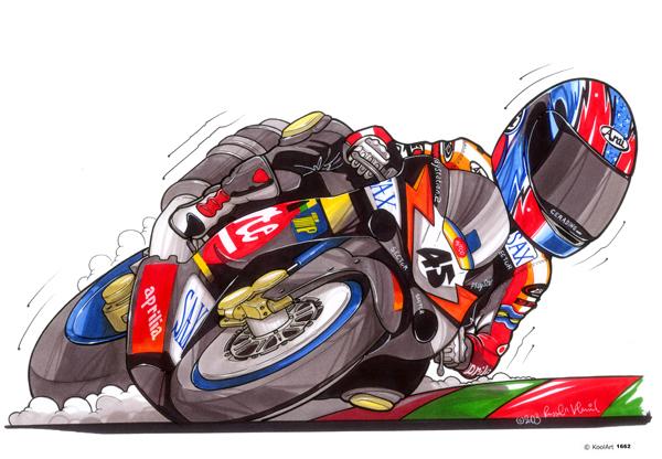 Aprilia Moto GP Rouge