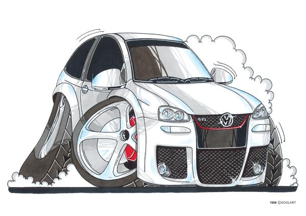 Volkswagen Golf Blanche