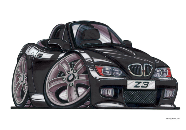 BMW Z3 Cabriolet Noire