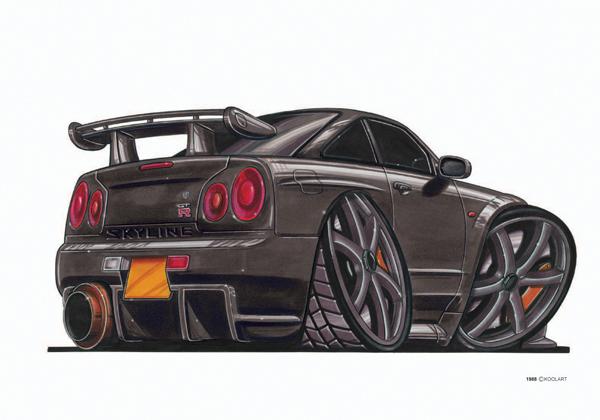 Nissan Skyline Noire
