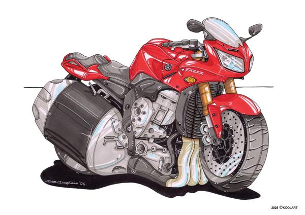 Yamaha Fazer Rouge