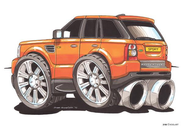 Range Rover Sport Orange