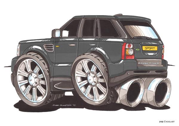 Range Rover Sport Noir
