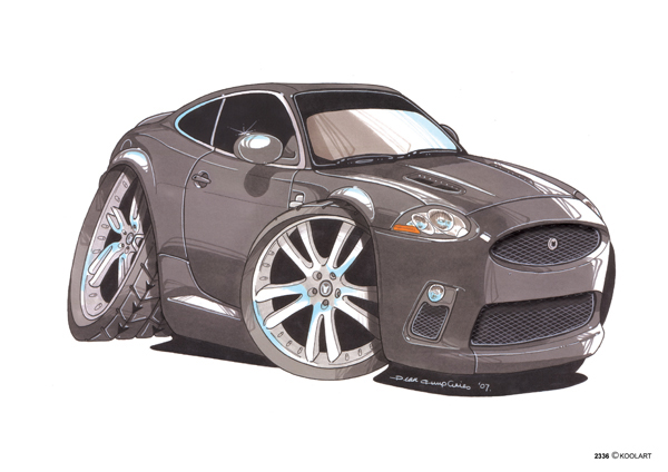 Jaguar XKR Grise