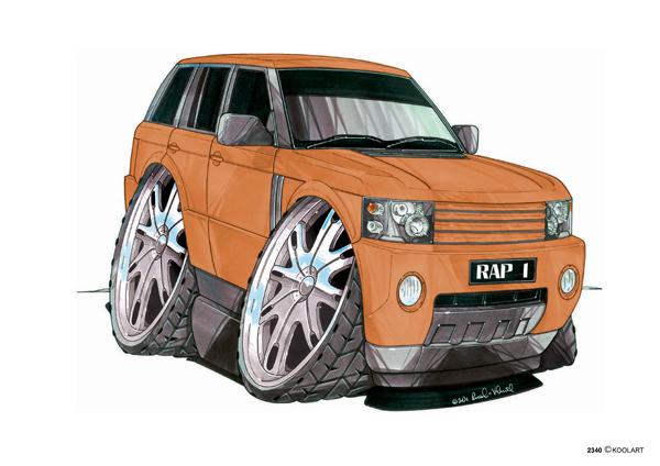 Range Rover Orange
