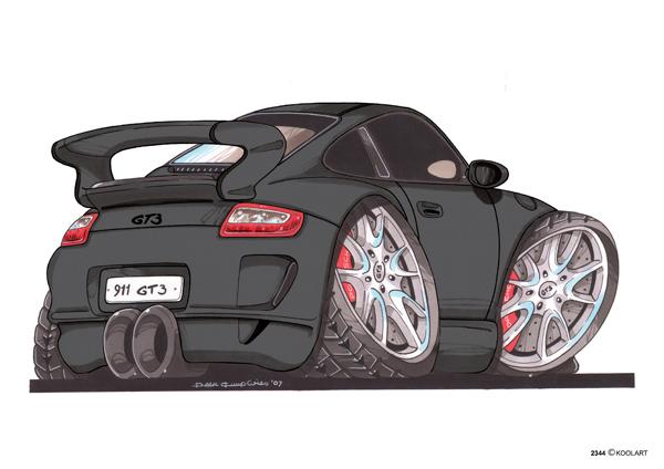Porsche 911 GT3 Noire