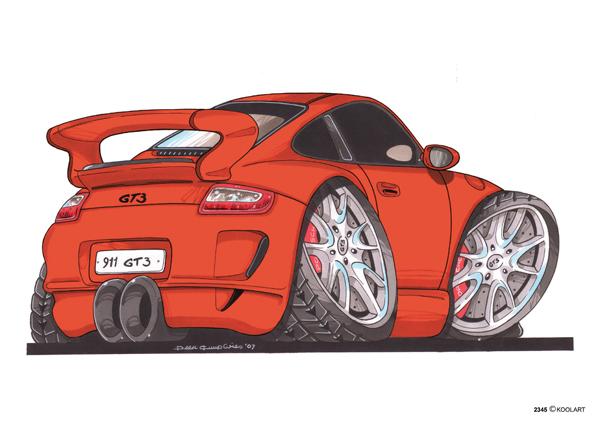 Porsche 911 GT3 Orange