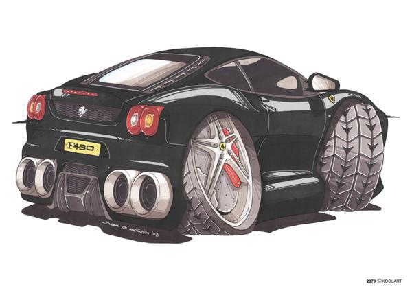 Ferrari F430 Noire