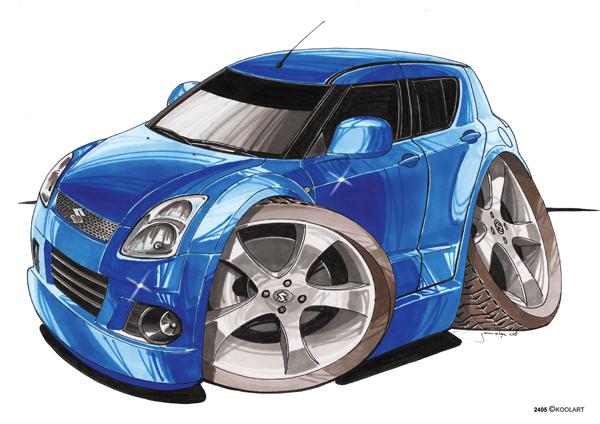 Suzuki Swift Bleue