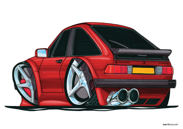 Volkswagen Scirroco Rouge