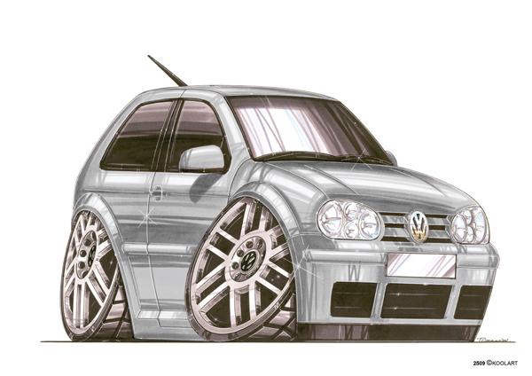 Volkswagen Golf Grise