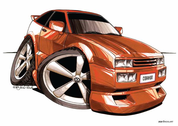 Volkswagen Corrado Orange