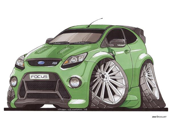 Ford Focus RS Av Verte