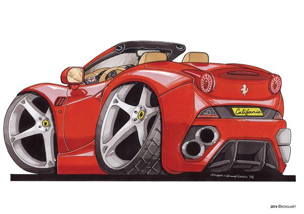 Ferrari California Ar Rouge