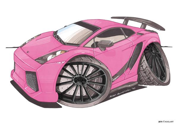 Lamborghini Gallardo Rose