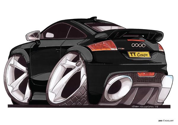 Audi TT Arriere Noire