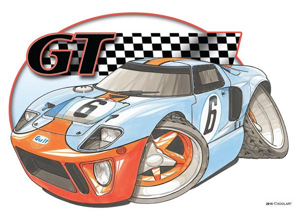 Ford GT 40 Rallye