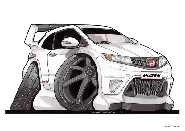 Honda Civic Type R Blanche