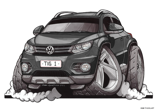 Volkswagen Tiguan Noir