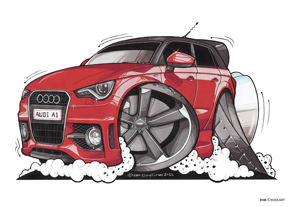 Audi A1 Rouge