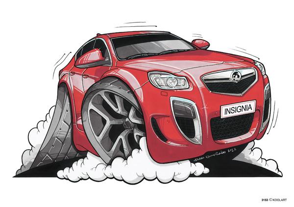 Opel Insigna Vauxhall Rouge