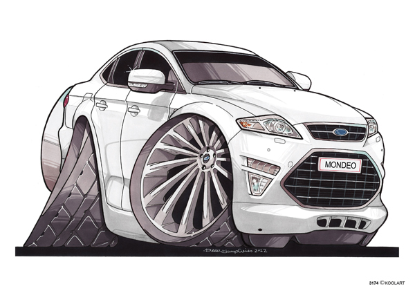 Ford Mondeo Blanche