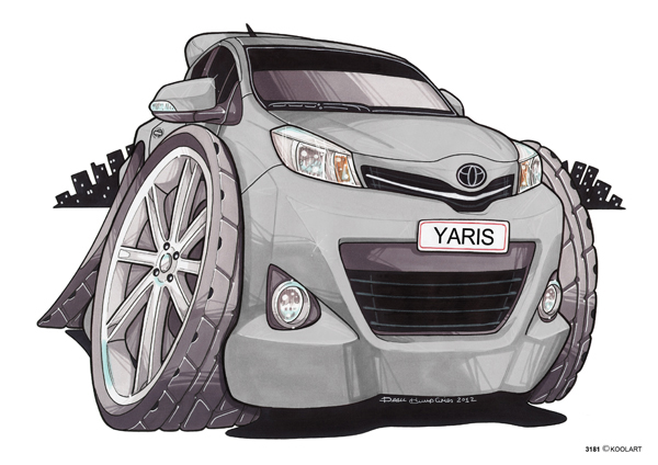 Toyota Yaris Grise