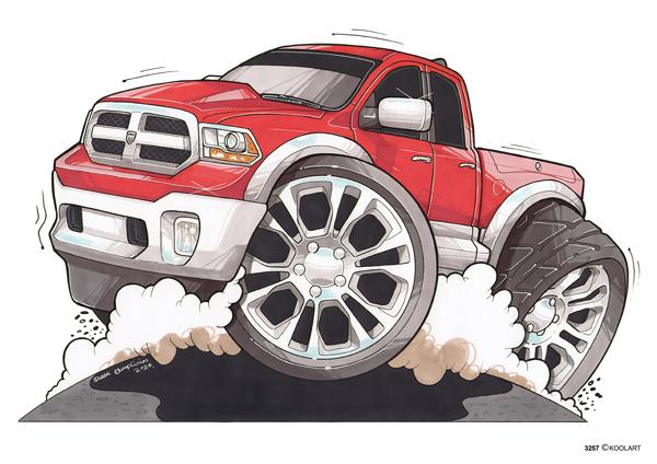 Dodge Ram 1500 Rouge