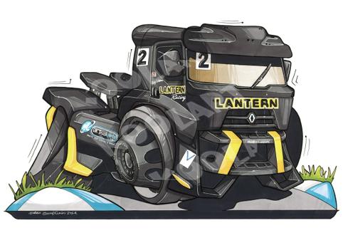 Renault Trucks Racing Noir