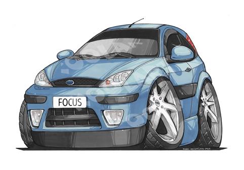 Ford Focus Bleue