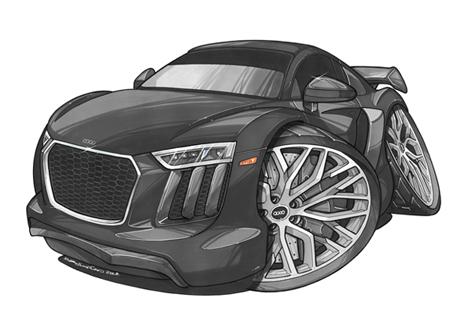 Audi R8 Face Noire