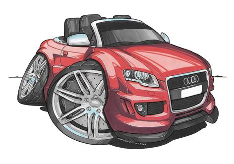 Audi RS4 Cabriolet Rouge